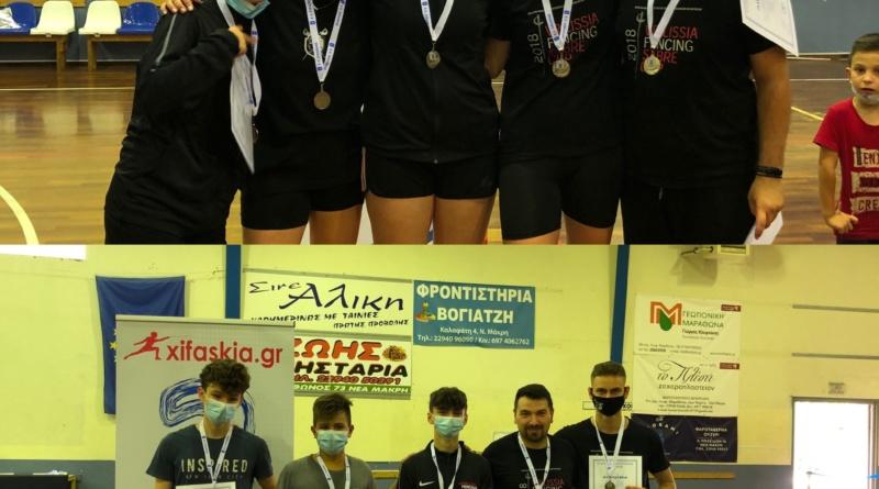 Ξιφασκία – Αποτελέσματα του Πανελληνίου Πρωταθλήματος Νέων Ανδρών & Νέων Γυναικών (ομαδικά)